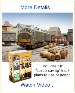 ho scale oo gauge model trains track plans book offer